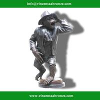 Brand new golfing monkey statue with low price