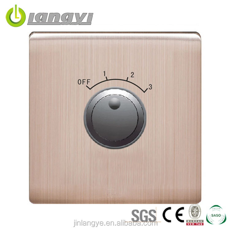 China Manufacturer Energy Saving Variable Speed Control Switch