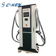 Cken 60kw single EV charge vertical type electric charging station DC car charger machine