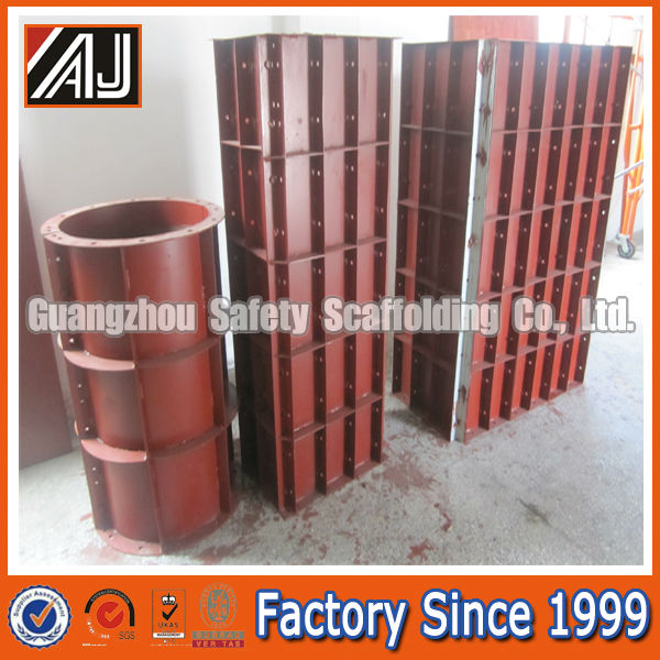 Construction Heavy Duty Metal Column Formworks For Sale
