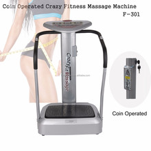 2017 Newest Coin Taken Crazy Fitness Massage Machine/Deluxe Vending Crazy Fitness Massage Machine