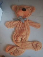 giant teddy bear 200cm skin/unstuffed bear skins/unstuffed teddy bear skins