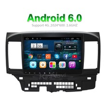 "Kirinavi china factory WC-ML1011 10.2"" android 6.0 android car dvd for mitsubishi lancer with android Dashboard Placement"