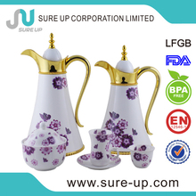 wholesale Arabic coffee pot royal porcelain tea sets with beautiful design