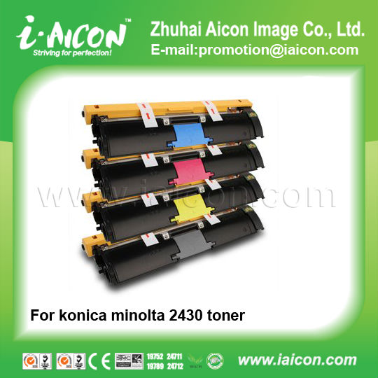 For konica minolta magicolor 2430dl toner 1710587004-1710587007