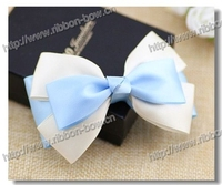 MSD Beautiful girls hair ribbon bow,ribbon bow hairpin