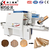 Shengong Round Log Multi Rip Saw Machine