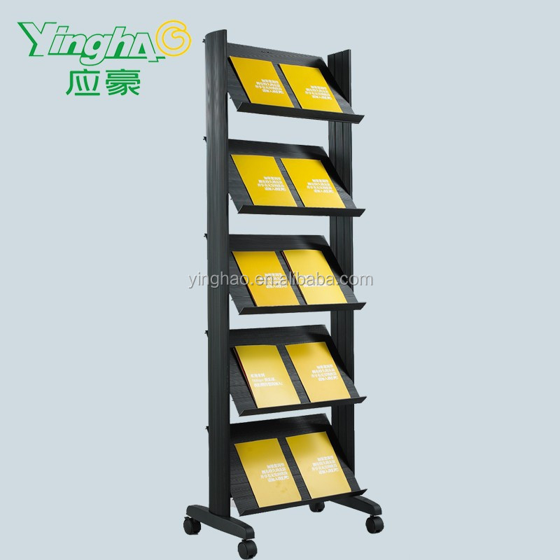 brochure holder plastic