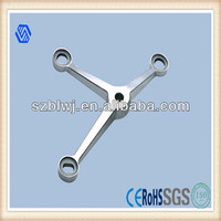 Buy glass curtain wall fixing system inox 304 316 low price glass ...
