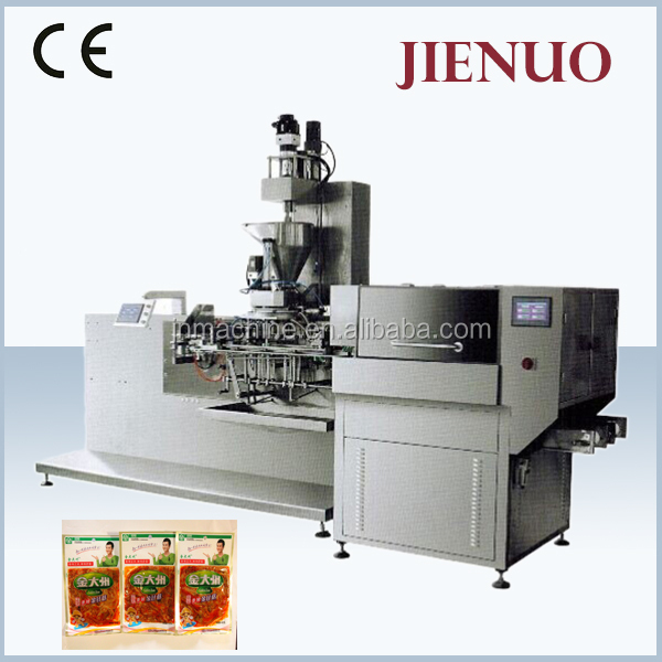 Automatic Small Pouch Vacuum Packing Machine Fish