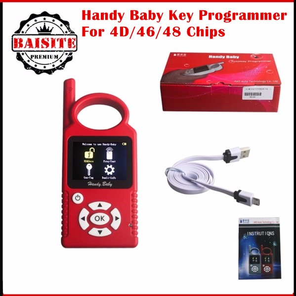 2017 Best Selling Handy Baby CBAY Hand-held Car Key Programmer New 8.1.0 Auto Key Copy for 4D/46/48 Chips CBAY Chip Programmer