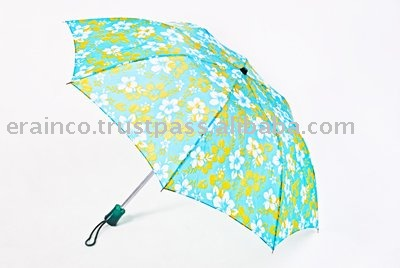 Lotus Printed Umbrella 82CM