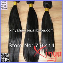 Hot selling 5A virgin sraight wave low price chinese remy hair weft