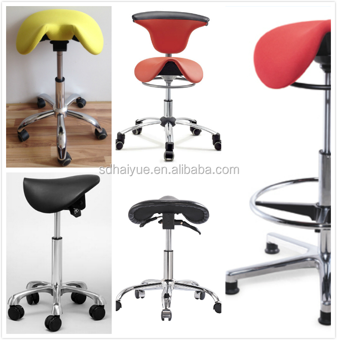 Special Design Saddle Chair Beauty Salon Saddle Stool With