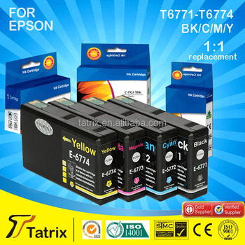 compatible Ink Catridge for Epson cartridge T6771,reasonable price with good quality