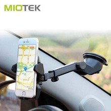 Adjustable 180 degree Rotating windshield dashboard ABS suction Cup mount mobile phone sucker stand holder for car