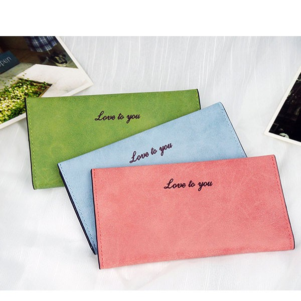 New Women Wallet For Mobile embroidered wallet Clutch PU Leather Womens Wallets And Purses Korean Style