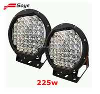 10inch 225W Led Driving Spot Work Light 4WD Offroad Camping Replace 96W 185W
