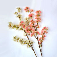 BLS036-5 GNW fake artificial cherry blossom tree branches for home decoration