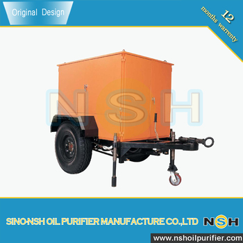 SINO-NSH VFD Transformer Oil Recovery machine