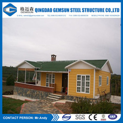 Fast modular installation prefabricated living house/ prefab building/shed/villa