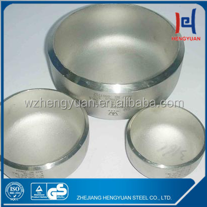 factory supplier stainless large steel pipe end cap lishui