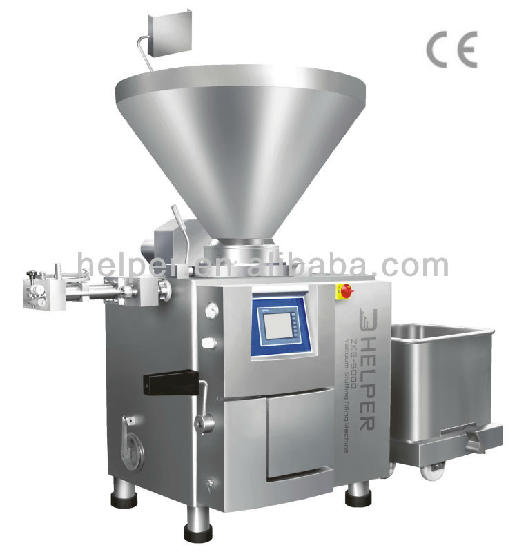 vacuum filling machines for meat, cheese in mud and blocks