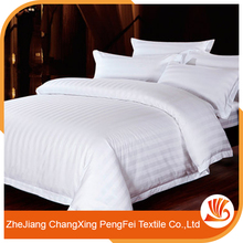Chinese manufacture new bed sheet bedding set for hotel