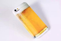 New Hot Super Emulate Beer Glass Phone Hard Back Cover Phone Cases For Iphone Phone Case Accessories