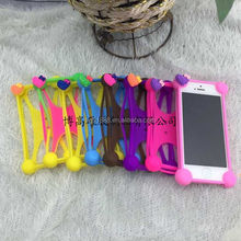 Hot sale silicone mobile phone case for smart phones,protectable silicone phone case