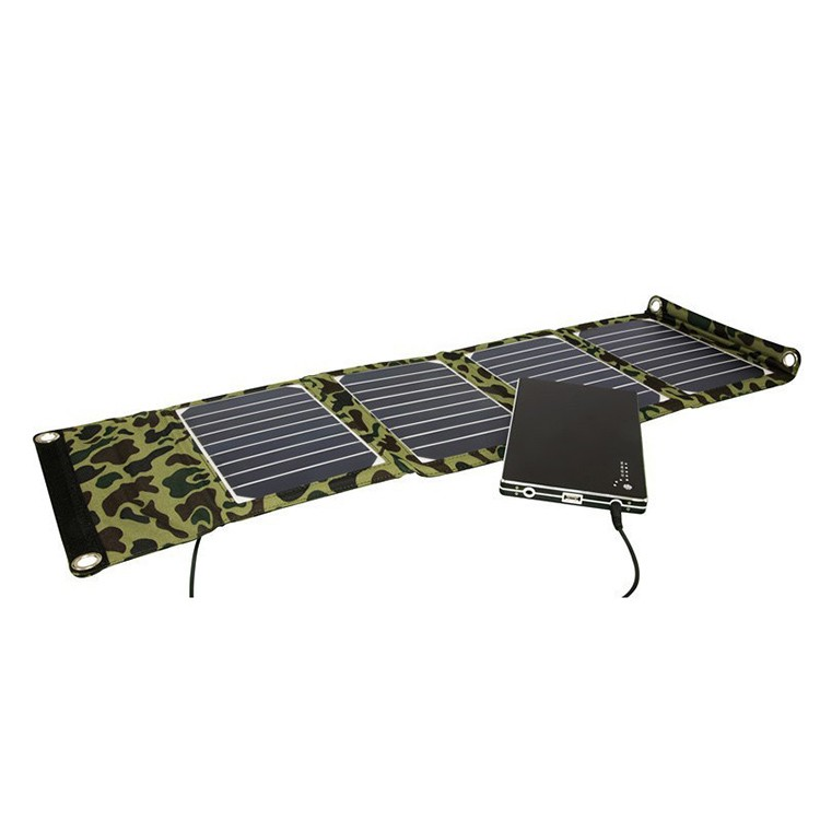 20w foldable solar charger USB solar bag for charging laptop and cell phone,camera,MP3 , PSP ,DV ,e-book ,e-toys