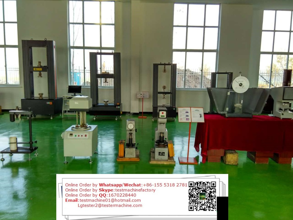 Unreinforced and Reinforced Plastics three-point and four-point loading testing machine