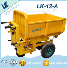 mini electric dumper truck/garden mini dumper short distance transport/dumper machine used in garden