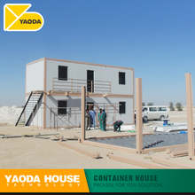 low cost flat top movable roof modular prefab kit house prefabric container house plans two 2 story container house