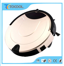 CE CB GS ROHS double side brushes automatic intelligent robotic vacuum cleaner