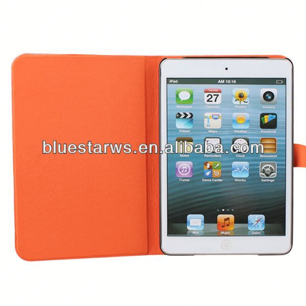 In stock with cheap price for ipad mini 2 pu leather case card holder case
