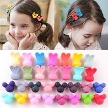Candy Color Cute <strong>Hair</strong> <strong>Accessories</strong> For Little Girls Cartoon Rabbit Ear Children Hairpins <strong>Hair</strong> Clip