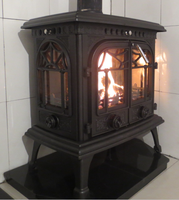20kw cast iron wood stove oven for sale (factory)