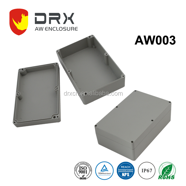 IP67 outdoor aluminum waterproof project box for electronics