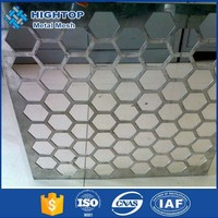 China Supplier Hole Punch Aluminum Metal Sheet Perforated Mesh Rolls