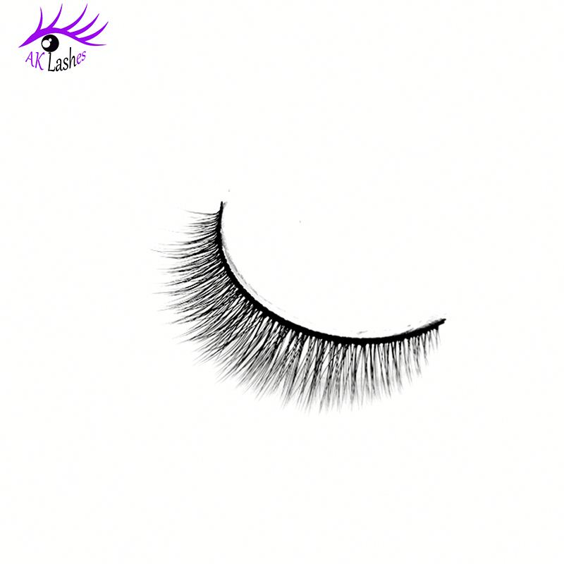 Korean Quality Natural 3d Silk Mink Fur Eyelashes