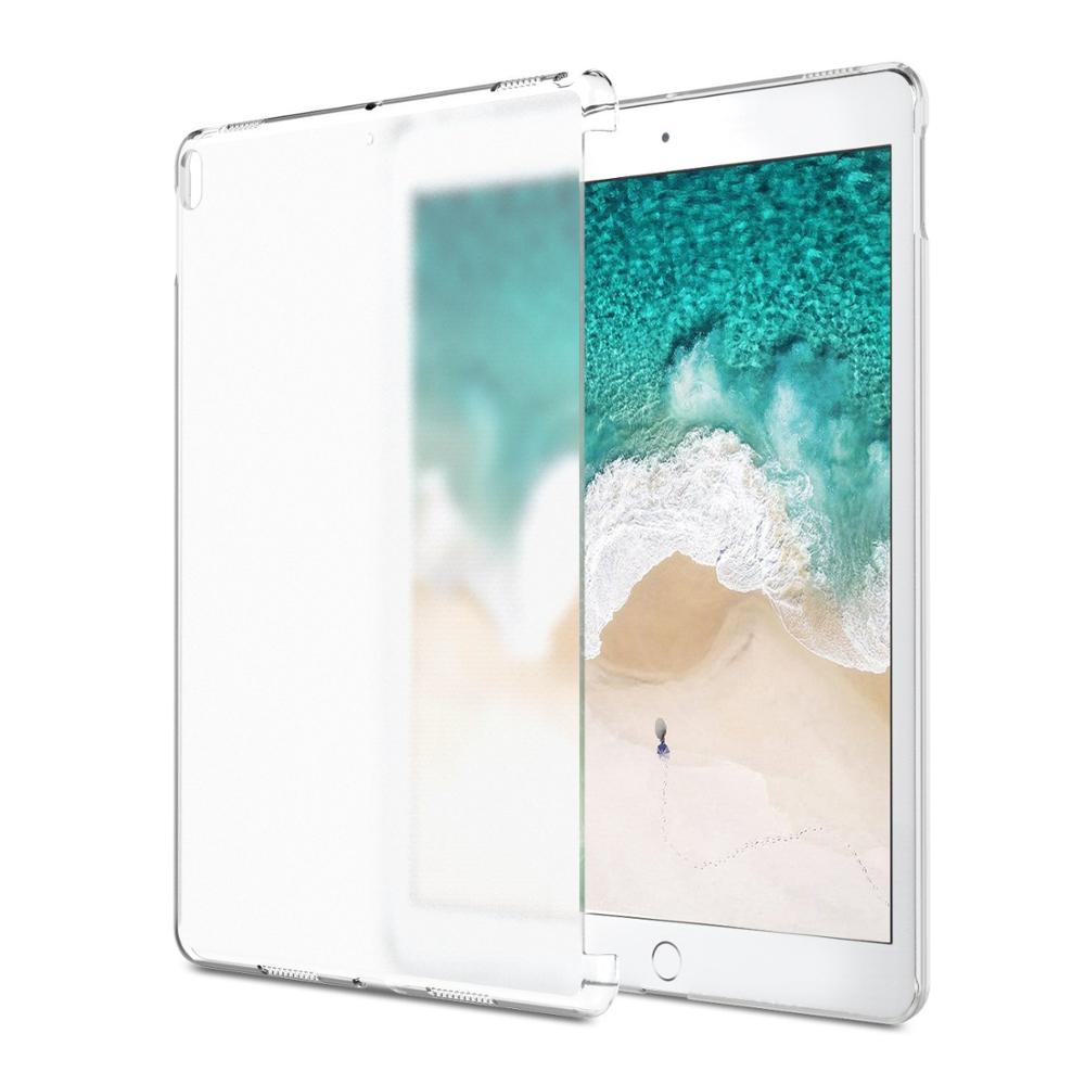 C&T Translucent Slim Plastic Bumper Cover Back Protective Hard PC Case for Apple iPad Pro 10.5 Inch