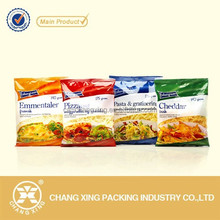 Rotogravure printing poly pasta bags packaging with clear window
