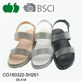 Hot sell top fashion sandals 2018 for lady