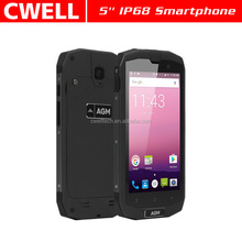 AGM 5.0 Inch 4GB/64GB Android 7.0 NFC IP68 Waterproof Rugged mobile phone smart
