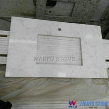 Natural marble stone folding countertops