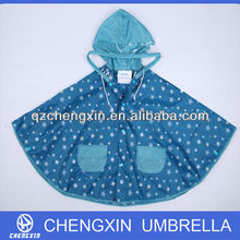 custom color poe hood promotional rain poncho