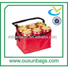 Portable wine promotional igloo cooler bag