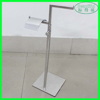 Mirror Face Stainless Steel Handbag Stand Display Rack
