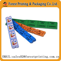 New design arcade ticket printing,raffle ticket with child games
